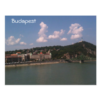 Budapest - Liberty Bridge and Gellert Hill Post Cards