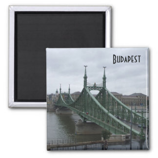 Budapest - Liberty Bridge Refrigerator Magnet