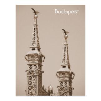 Budapest - Liberty Bridge Postcard