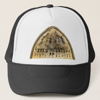 budapest matthias church interior stone decoration trucker hat