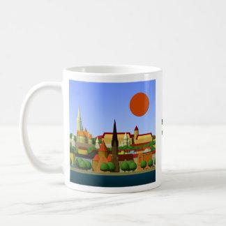 Budapest Basic White Mug