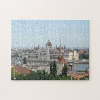 Budapest Parliament Building Puzzle