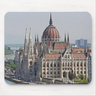Budapest parliament south side, Hungary Mouse Mat
