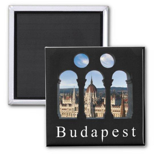 Budapest Parliament Square Magnet