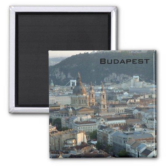 Budapest Square Magnet