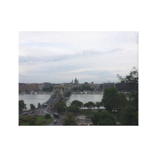 Budapest Stretched Canvas Prints