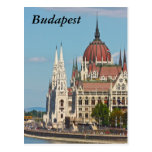 Budapest, the building of the Parliament, Budapest Post Cards