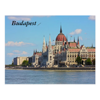 Budapest, the building of the Parliament, Budapest Postcard