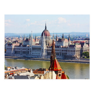 Budapest, the building of the Parliament Postcard