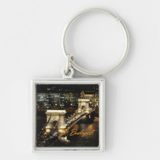 Budapest, The Chain Bridge from the Buda Castle Key Ring