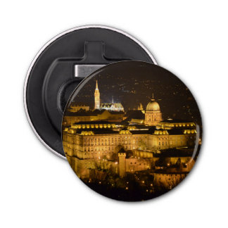 Budapest, The Royal Palace (Buda Castle) at night Bottle Opener