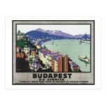 Budapest via Harwich Postcard
