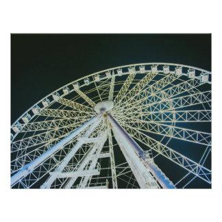 Budapest wheel 21.5 cm x 28 cm flyer
