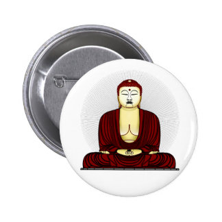 Budda Gautama Buddha Siddhartha Gautama 6 Cm Round Badge