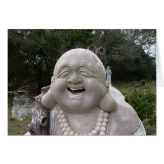 Budda Greeting Card