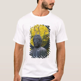 Budda Statue in the Japanese Gardens Golden T-Shirt