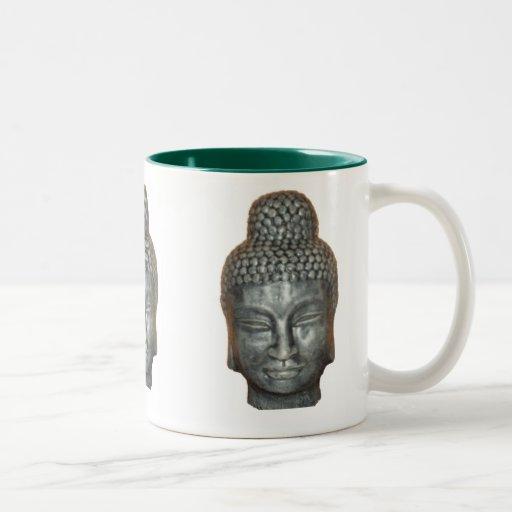 Buddah head, coffee mugs