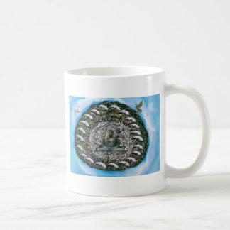 Buddah Basic White Mug