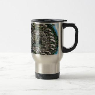 Buddah 15 Oz Stainless Steel Travel Mug