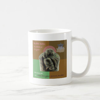 Buddah or Bubbe? Basic White Mug