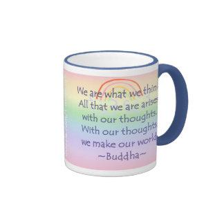 Buddha 002 ringer mug