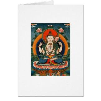 buddha 1 notecard greeting card
