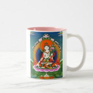 buddha 3 mug pink