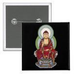 Buddha Abhaya Mudra Pinback Buttons