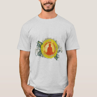 Buddha Abstract Sunset T-Shirt