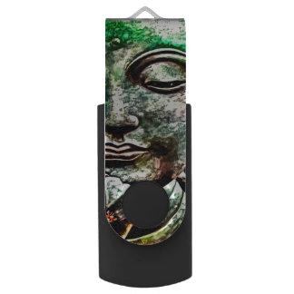 Buddha Airbrush Art 64 GB USB Flash Drive Swivel USB 3.0 Flash Drive