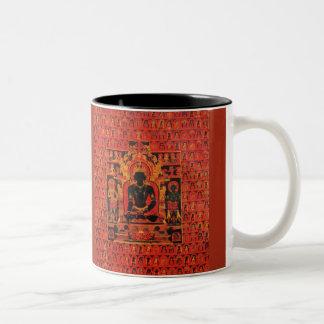 Buddha Akshobhya Two-Tone Coffee Mug