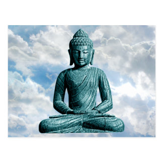 Buddha Alone - Horizontal Postcard