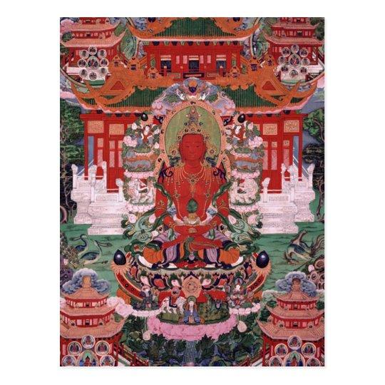 Buddha Amitayus Postcard