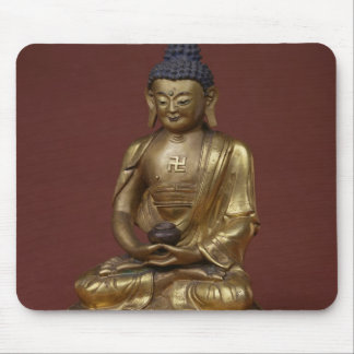 Buddha Amitayus seated in meditation Mouse Pad