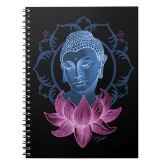 Buddha and Lotus Notebooks