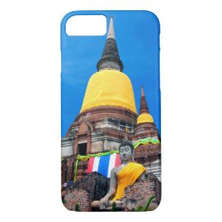 Buddha and Pagoda iPhone 7 Case