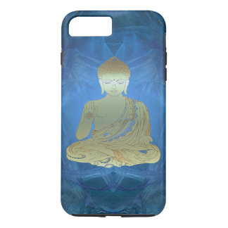 Buddha applied (blue) iPhone 7 plus case