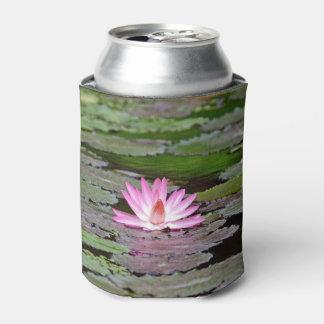 Buddha Asia Lotus Flower Can Cooler