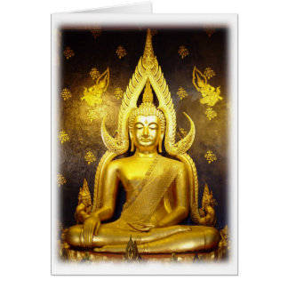 Buddha at Wat Yai-Blank Note Card