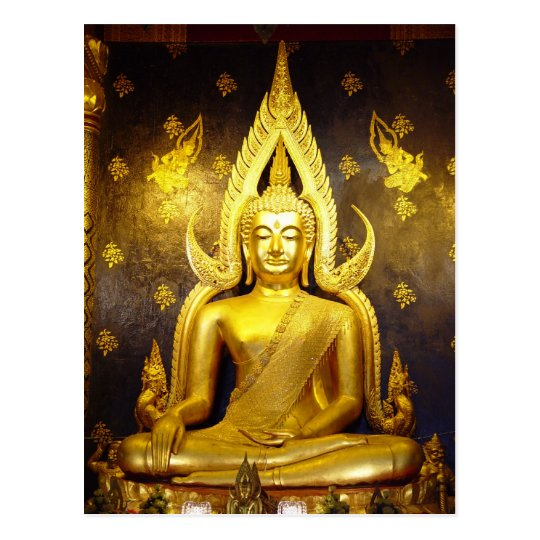 Buddha at Wat Yai Postcard