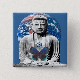 Buddha Awaits Button