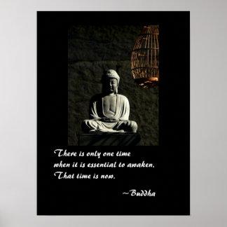 Buddha awaken posters