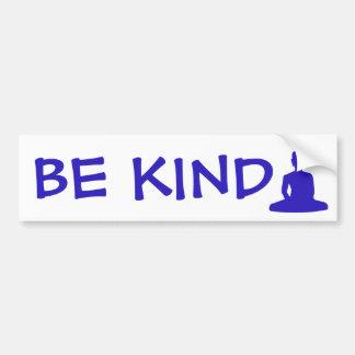 Buddha Be Kind Bumper Sticker