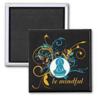 Buddha Be Mindful Magnet