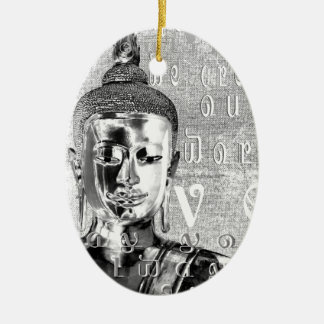 Buddha Blessing Christmas Ornament