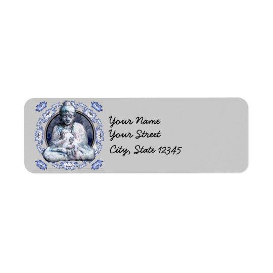 Buddha Breathe Return Address Label