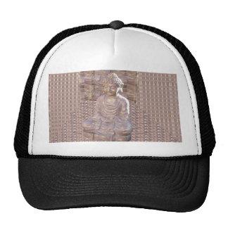 Buddha Buddhism Religion Spiritual Meditation gift Trucker Hat