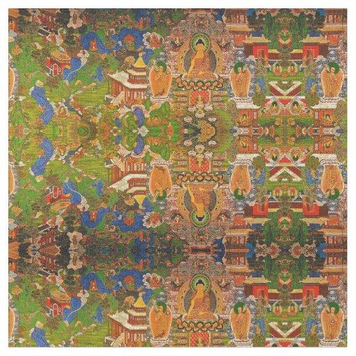 Buddha Buddhist Buddhism Blessing Boho Bohemian Fabric