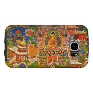 Buddha Buddhist Buddhism Blessing Boho Bohemian Samsung Galaxy S6 Cases