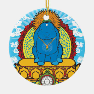 BUDDHA BUN CHRISTMAS ORNAMENT